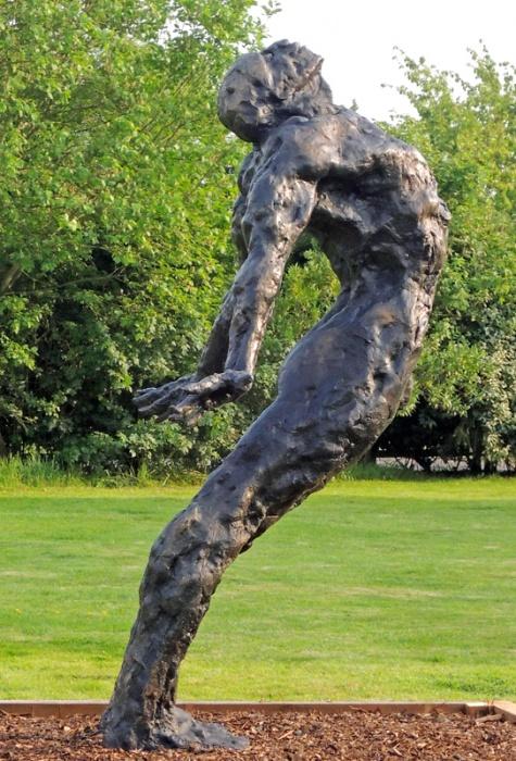 Sculpture In The Garden Maurice Blik: U0027Second Breathu0027 Bronze Price On  Application